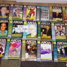 Coleccionismo de Revistas y Periódicos: LOTE 21 REVISTA ARGIA POLÍTICA POLÍTICO VASCO VASCA 1994 - 1995. Lote 178908032