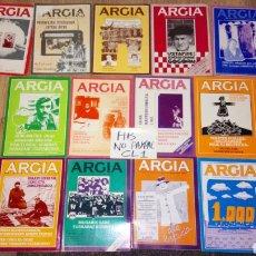 Coleccionismo de Revistas y Periódicos: LOTE 13 REVISTA ARGIA AÑOS DÉCADA 80 DIFERENTES NÚMEROS POLÍTICA POLÍTICO VASCO VASCA. Lote 178908268