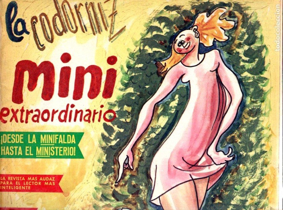LA CODORNIZ Nº 1352 - 15 X 1967 EXTRA MINI (Coleccionismo - Revistas y Periódicos Modernos (a partir de 1.940) - Otros)