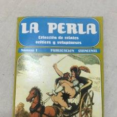 Coleccionismo de Revistas y Periódicos: LA PERLA NÚMERO 1 COLECCIÓN DE RELATOS EROTICOS Y VOLUPTUOSOS. Lote 178944856
