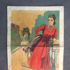 Coleccionismo de Revistas y Periódicos: LABORES Y PATRONES. FIGURINES, PUBLICIDAD A COLOR AÑOS CUARENTA. EDITORIAL: GUERRI, (H.1940?). Lote 178958960