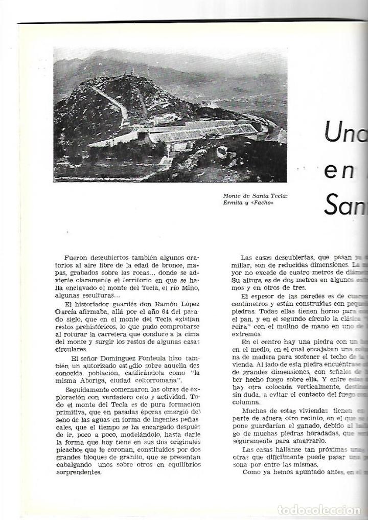 Coleccionismo de Revistas y Periódicos: AÑO 1954 MONTE SANTA TECLA GALICIA CONCURSO COCINA BARCELONA RESTAURANTE ROSALEDA HOTEL MADRID RITZ - Foto 2 - 178970360