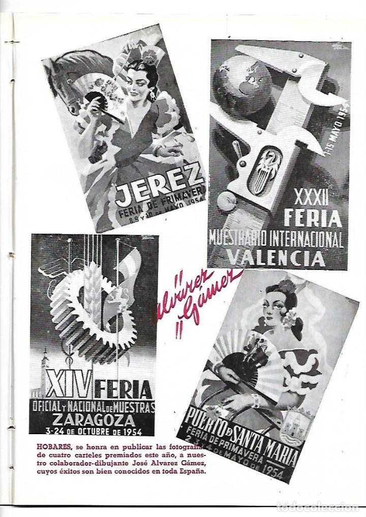Coleccionismo de Revistas y Periódicos: AÑO 1954 WASHINGTON IRVING EL VINO DE JEREZ CARTEL FERIA ALVAREZ GAMEZ FINO LA INA AGUA LANJARON - Foto 2 - 178986452
