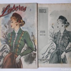 Coleccionismo de Revistas y Periódicos: LABORES. SUPLEMENTO MENSUAL DE VOSOTRAS. MAYO 1949. DOS SECCIONES.. Lote 178986728