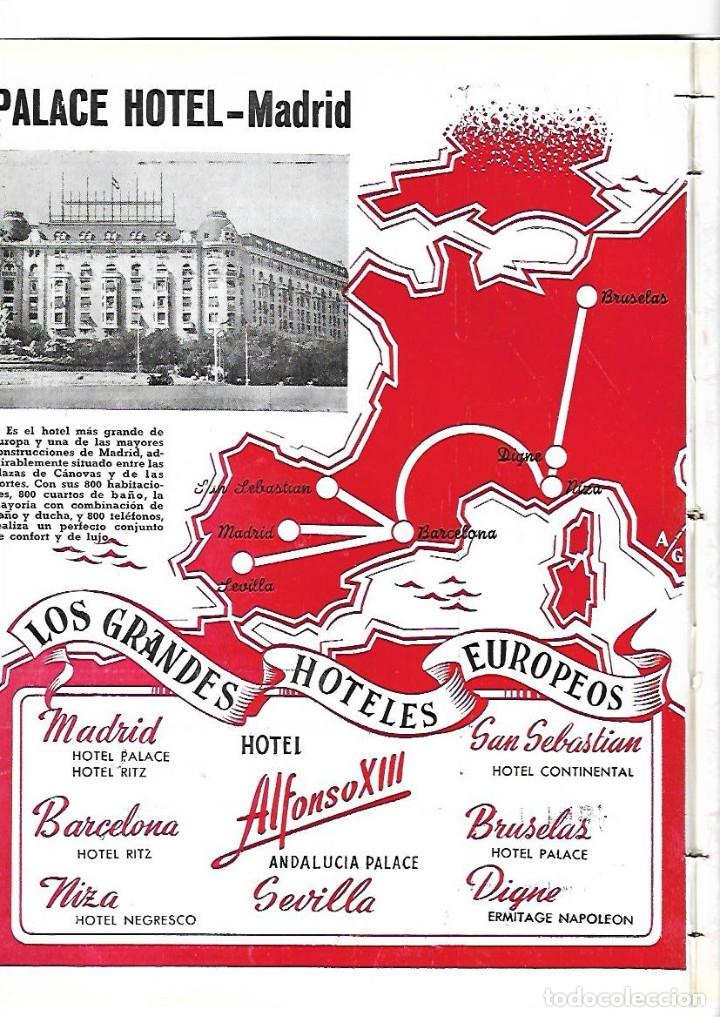 Coleccionismo de Revistas y Periódicos: AÑO 1954 CACERES CIUDAD MONUMENTAL HOTEL ALFONSO XIII SEVILLA PALACE HOTEL MADRID BAUTISTA JAUREGUI - Foto 4 - 178987618