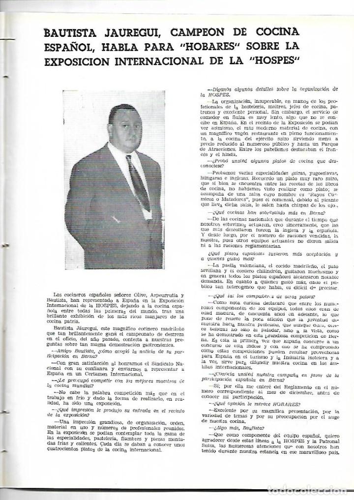 Coleccionismo de Revistas y Periódicos: AÑO 1954 CACERES CIUDAD MONUMENTAL HOTEL ALFONSO XIII SEVILLA PALACE HOTEL MADRID BAUTISTA JAUREGUI - Foto 5 - 178987618