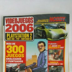 Coleccionismo de Revistas y Periódicos: VIDEOJUEGOS 2006 HOBBY CONSOLAS SIN CD. Lote 178998035