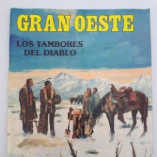 Coleccionismo de Revistas y Periódicos: GRAN OESTE. NO. 11. - LOS TAMBORES DEL DIABLO.. Lote 179009083