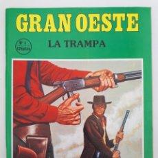 Coleccionismo de Revistas y Periódicos: GRAN OESTE. NO. 3 - LA TRAMPA.. Lote 179009950