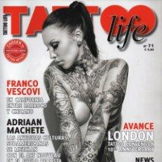 Coleccionismo de Revistas y Periódicos: TATOO LIFE N. 71 (NUEVA). Lote 179020092
