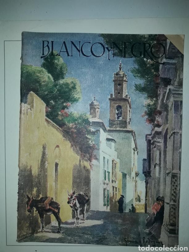 REVISTA ILUSTRADA DE 1924 BLANCO Y NEGRO (Coleccionismo - Revistas y Periódicos Antiguos (hasta 1.939))