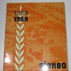 Coleccionismo de Revistas y Periódicos: 1909-1959 50º EXPOSICION REGIONAL ATENEO MERCANTIL VALENCIA, BIBLIOTECA PERSONAL ADOLF PIZCUETA. Lote 179033925