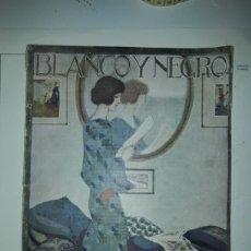 Coleccionismo de Revistas y Periódicos: REVISTA ILUSTRADA BLANCO Y NEGRO DE 1923. Lote 179034972