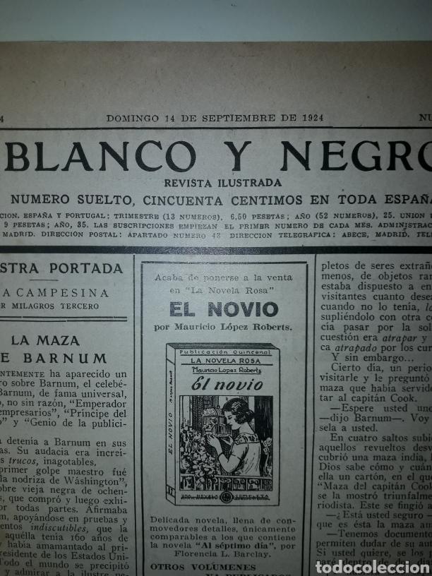 Coleccionismo de Revistas y Periódicos: Revista de 1924 ilustrada blanco y negro - Foto 2 - 179035221