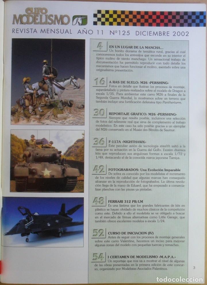 Coleccionismo de Revistas y Periódicos: Nº 125 - EURO MODELISMO - ACCION PRESS - DICIEMBRE - 2002 - Foto 2 - 179035912