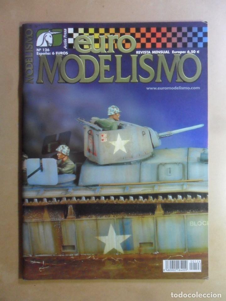 Nº 126 - EURO MODELISMO - ACCION PRESS - ENERO - 2003 (Coleccionismo - Revistas y Periódicos Modernos (a partir de 1.940) - Otros)