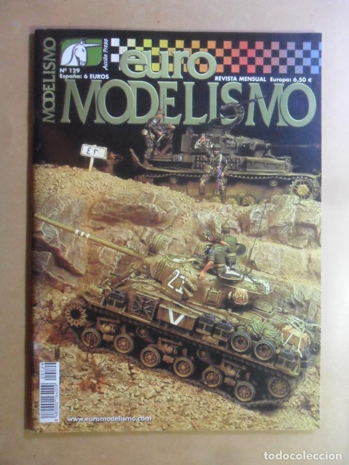 Nº 129 - EURO MODELISMO - ACCION PRESS - ABRIL - 2003 (Coleccionismo - Revistas y Periódicos Modernos (a partir de 1.940) - Otros)