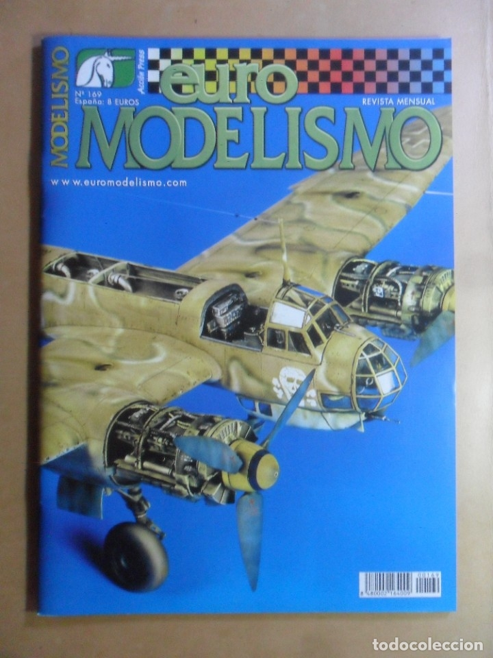 Nº 169 - EURO MODELISMO - ACCION PRESS (Coleccionismo - Revistas y Periódicos Modernos (a partir de 1.940) - Otros)