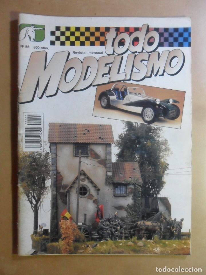 Nº 55 - TODO MODELISMO - ACCION PRESS - FEBRERO - 1997 (Coleccionismo - Revistas y Periódicos Modernos (a partir de 1.940) - Otros)