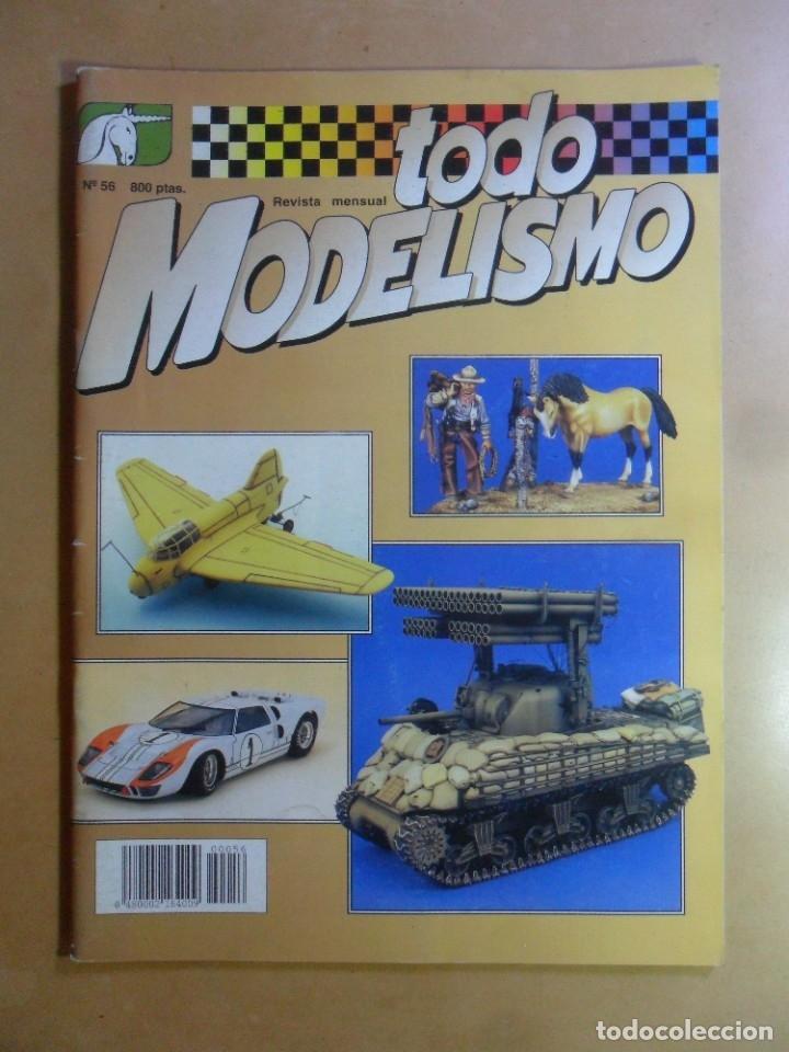 Nº 56 - TODO MODELISMO - ACCION PRESS - MARZO - 1997 (Coleccionismo - Revistas y Periódicos Modernos (a partir de 1.940) - Otros)
