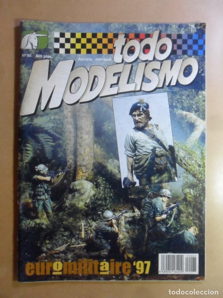 Nº 65 - TODO MODELISMO - ACCION PRESS - DICIEMBRE - 1997 (Coleccionismo - Revistas y Periódicos Modernos (a partir de 1.940) - Otros)