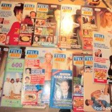 Coleccionismo de Revistas y Periódicos: LOTE DE REVISTAS TELEINDISCRETA. Lote 179044947