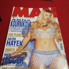 Coleccionismo de Revistas y Periódicos: REVISTA MAN AÑO 2003 ANNA KOURNIKOVA. Lote 179046453