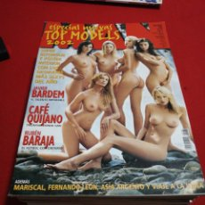 Coleccionismo de Revistas y Periódicos: REVISTA MAN AÑO 2002 ESPECIAL TOP MODELS. Lote 179046556