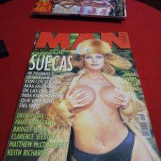Coleccionismo de Revistas y Periódicos: REVISTA MAN AÑO 1997 ESPECIAL SUECAS. Lote 179046721
