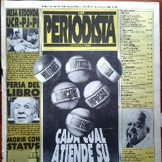 Coleccionismo de Revistas y Periódicos: 1985 EL PERIODISTA # 30 MORIR CON STATUS POTOSI Y EL DIABLO NICOLAS GUILLEN PINOCHET MARX GARDEL. Lote 179053457
