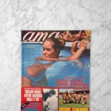 Coleccionismo de Revistas y Periódicos: AMA - 1971 - MARIBEL MARTIN, MARIA ALBAICIN, STEPHEN BOYD, DALI, FLORINDA BOLKAN, EMMA COHEN. Lote 179076385