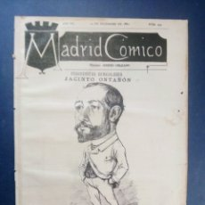 Coleccionismo de Revistas y Periódicos: MADRID CÓMICO - BURGOS (APUNTES DE VIAJE ) 10-DIC-1887 Nº 251 - AÑO VII - PORTADA : JACINTO ONTAÑÓN. Lote 179080652