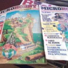 Coleccionismo de Revistas y Periódicos: MICROHOBBY NUMEROS 25 Y 100. Lote 179096533