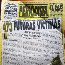 Coleccionismo de Revistas y Periódicos: 1985 EL PERIODISTA # 34 FELIPE GONZALEZ POR UN PUÑADO DE DOLARES ANTOINE SANGUINETTI RONALD REAGAN. Lote 179096815