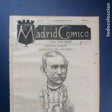 Coleccionismo de Revistas y Periódicos: MADRID CÓMICO - BILBAO (APUNTES DE VIAJE) 12-NOV-1887 Nº247 - AÑO VII - PORTADA : ANTONIO DE TRUEBA. Lote 179096837