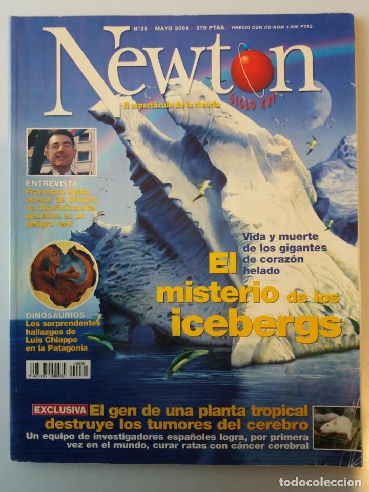 REVISTA NEWTON Nº 25 MAYO 2000 (Coleccionismo - Revistas y Periódicos Modernos (a partir de 1.940) - Otros)