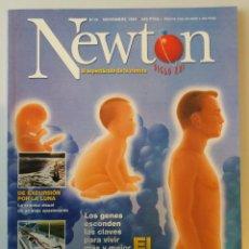 Coleccionismo de Revistas y Periódicos: REVISTA NEWTON Nº 19 NOVIEMBRE 1999. Lote 179098656