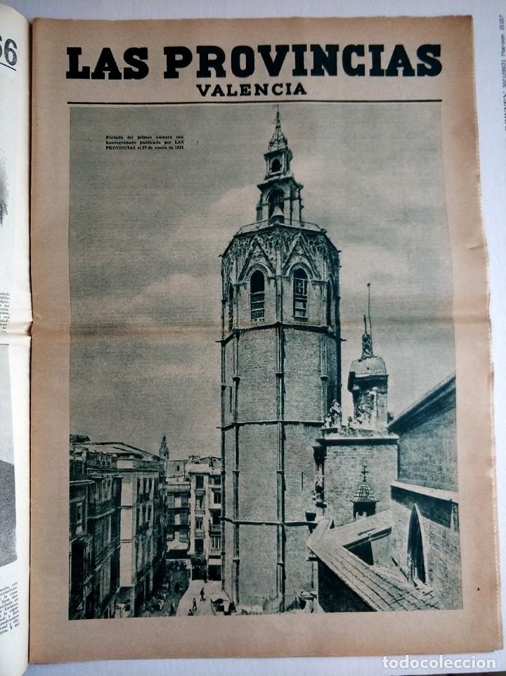 Coleccionismo de Revistas y Periódicos: Especial periodico Valenciano Las Provincias cumple 100 años - 1866 - 1966 - Foto 5 - 179101691