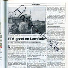 Coleccionismo de Revistas y Periódicos: REVISTA AÑO 1984 ETA GANO EN LEMONIZ COINTREAU CONCORDE SEVILLEJA DE LA JARA AVES RAPACES AGUILAS. Lote 179111703