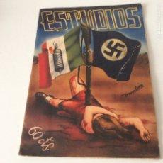Coleccionismo de Revistas y Periódicos: ESTUDIOS 1937 NÚMERO 162. Lote 179117497