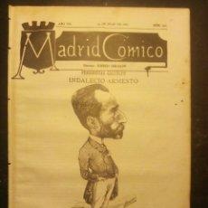 Coleccionismo de Revistas y Periódicos: MADRID CÓMICO - PONTEVEDRA (APUNTES DE VIAJE) 23-JUL-1887 Nº231-AÑO VII- PORTADA : INDALECIO ARMESTO. Lote 179121747