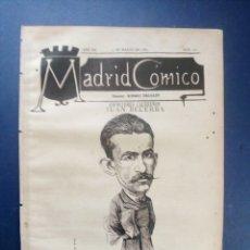 Coleccionismo de Revistas y Periódicos: MADRID CÓMICO - CÁCERES (APUNTES DE VIAJE) 5-MAR-1887 Nº211 -AÑO VII- PORTADA : JUAN BECERRA. Lote 179125430