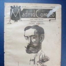 Coleccionismo de Revistas y Periódicos: MADRID CÓMICO - LÉRIDA (APUNTES DE VIAJE) 12-ENE-1887 Nº205 -AÑO VII- PORTADA : JAIME MORERA. Lote 179126306
