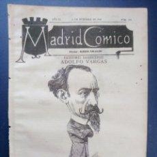 Coleccionismo de Revistas y Periódicos: MADRID CÓMICO - BADAJOZ (APUNTES DE VIAJE) 11-DIC-1886 Nº199 -AÑO VI- PORTADA : ADOLFO BARGAS . Lote 179128107