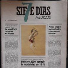 Coleccionismo de Revistas y Periódicos: REVISTA N°11/15 SIETE DÍAS MÉDICOS. Lote 179137605