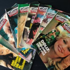 Coleccionismo de Revistas y Periódicos: LOTE 10 REVISTAS EL CORREO DOMINICAL 1981. Lote 179140190