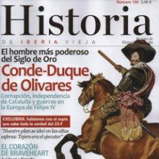 Coleccionismo de Revistas y Periódicos: HISTORIA DE IBERIA VIEJA N. 130 - EN PORTADA: CONDE-DUQUE DE OLIVARES (NUEVA). Lote 179140668