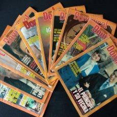 Coleccionismo de Revistas y Periódicos: LOTE DE 10 REVISTAS ANTENA DOMINICAL 1981. Lote 179141341