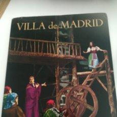 Coleccionismo de Revistas y Periódicos: VILLA DE MADRID NÚMERO 18 REVISTA DEL EXCMO AYUNTAMIENTO. NÚMERO DEDICADO A LOPE DE VEGA. Lote 179147293