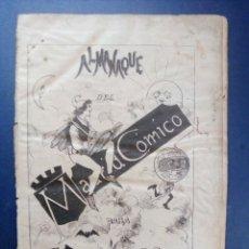 Coleccionismo de Revistas y Periódicos: MADRID CÓMICO - ALMANAQUE PARA 1886 (MIRAR FOTO SUMARIO DE TEXTO Y GRABADOS) - CLARÍN, E. BLASCO... . Lote 179159780